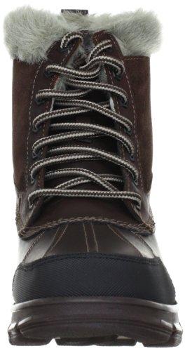 Skechers Trail MixHeats 47243, Bottes femme brun (CHOC)