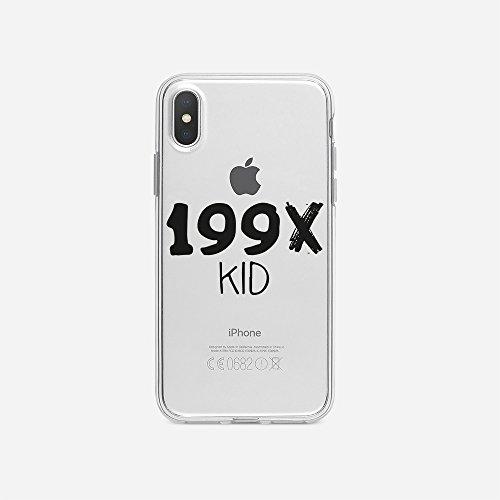 licaso Handyhülle für iPhone X aus TPU mit 199X Kid Print Design Schutz Hülle Protector Soft Extra