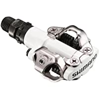Shimano Clipless SPD Mountain Bike Pedals and Cleats White