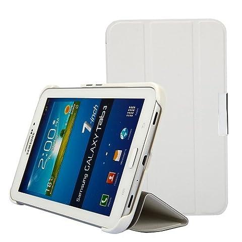 iHarbort Premium Leder Tasche Hülle Etui Schutzhülle Für Samsung Galaxy Tab 3 7.0 Zoll T210 T211 P3200 P3210 Case