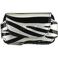 Reiko HP106A - MOTV3ZB02 Quer Tasche für Motorola V3 Zebra 02