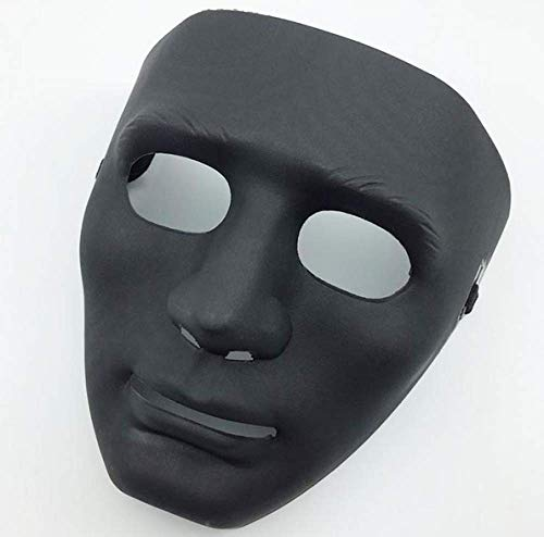 Halloween Mask Masquerade Dress Up Maske Junge Hip-Hop Tanz Requisiten Ball Party Kostüm Masken Cosplay Scary Solid Full Face Für (Hip Hop Tanz Kostüm Männer)