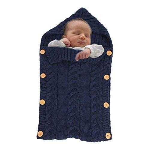 Babyschlafsack Warm Sleep Sack Kinderwagen Wrap für Neugeborene 0-12 Monate 70cm