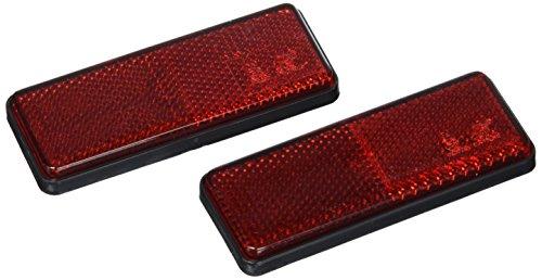Lampa 20540, Juego 2 Catadioptricos, 90x 35 mm, Rojo