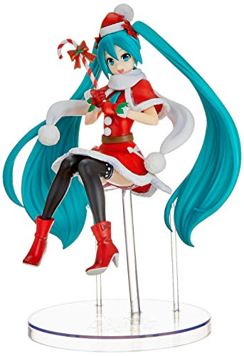 Hatsune Miku Christmas 2018.Figurine Hatsune Miku Miku Christmas 2018 Version Spm 24 Cm