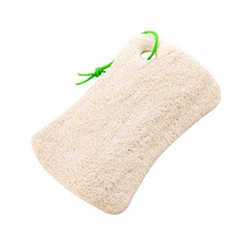 Floridivy Platz/Runde Form Luffa Luffa Badebürste Küche Waschen Körper Topf Schüssel Schwamm Scrubber