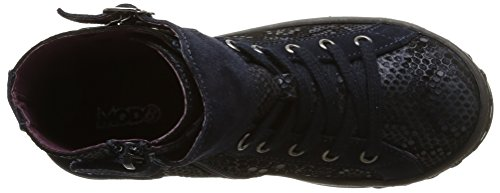 MOD8 Gertrude, Sneakers Hautes fille Bleu (10)