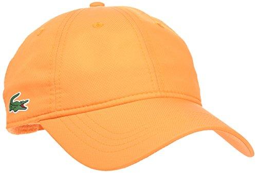 Lacoste Herren Baseball Cap Orange Orange (Apricot) One Size