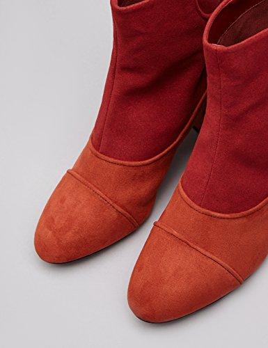 ruggine Rosso Donna Bicolore Colore Di Trovare Stivali qTXw0