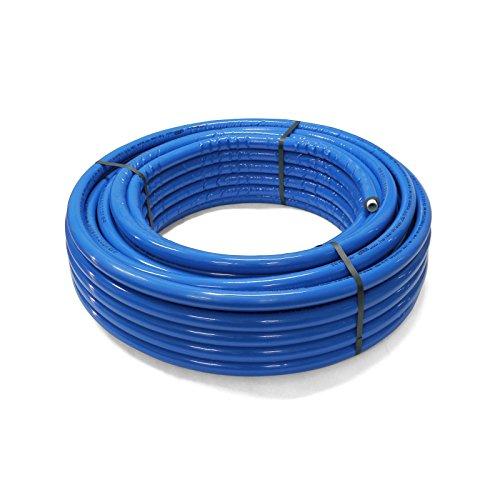 Pipetec Aluverbundrohr Aluminium Mehrschichtverbundrohr 16x2 mm 6mm blau 50m Isolierung PEX Mehrschicht-Verbundrohr MV-Rohr Mehrschichtrohr Heizung Wasser -