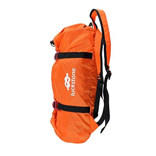 MagiDeal Nylon Tasche Klettern Seilsack Seiltasche - Orange -