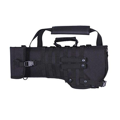 livecity Outdoor Tactical Gewehr Scheide Gun Case Militär Schulter Tragetasche, Schwarz , Large -
