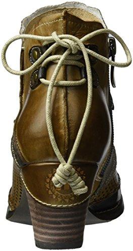Manitu Damen 961694 Cowboy Stiefel Grau (Grau)