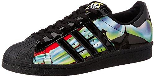 Schuhe Adidas-basketball-superstar (adidas Superstar 80's X Rita Ora Damen Sneaker Schwarz)