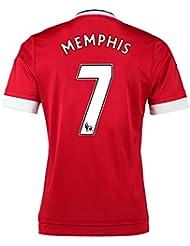 2015-16 Man United Home Shirt (Memphis 7)