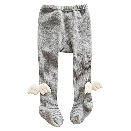b8cbb4efdac57 Anglewolf Baby Cotton Tights Kids Socks Pants Girl Leggings Stocking Winter  Socks Pantyhose(Angel Wings