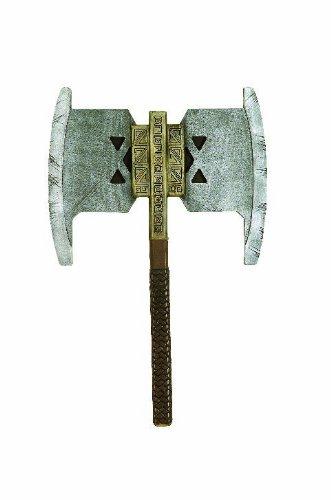 Der Hobbit Gimli Axt Erwachsene Herr der Ringe Waffe Spielzeug Zwerg Zubehör (Kostüme Herr Der Ringe)