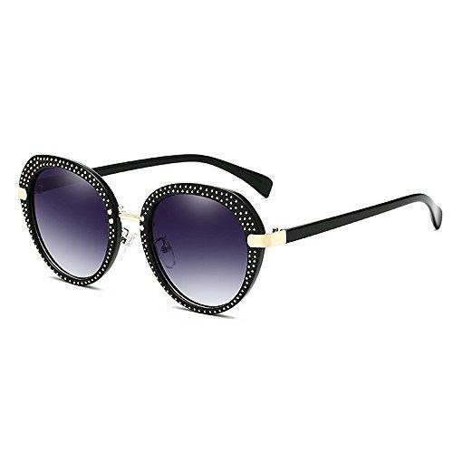 Ppy778 Polarisierte Sonnenbrille für Männer Outdoor Sport Eyewear ultraleichte metallische Metallrahmen HD-Objektiv (Color : Black)