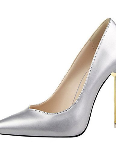 WSS 2016 Chaussures Femme-Décontracté-Noir / Violet / Rouge / Argent / Gris / Or / Beige-Talon Aiguille-Talons-Talons-Laine synthétique purple-us7.5 / eu38 / uk5.5 / cn38