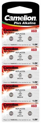 AGI Alkaline Knopfzelle CAMELION AG0/LR63/LR521/379 Original