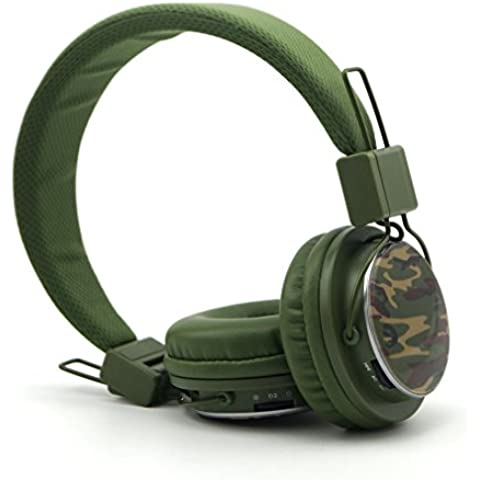 GranVela® A809 [13 colori] Stereo Pieghevole On Ear Cuffie con