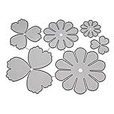 Huijun Flower fustelle stencil per DIY scrapbooking goffratura album Paper Craft