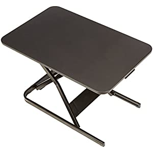 AmazonBasics Height Adjustable Sit-Stand Desk Converter
