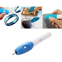 Takestop® - Stylo graveur électrique pour écrire et graver sur métaux, verre, bois et fer