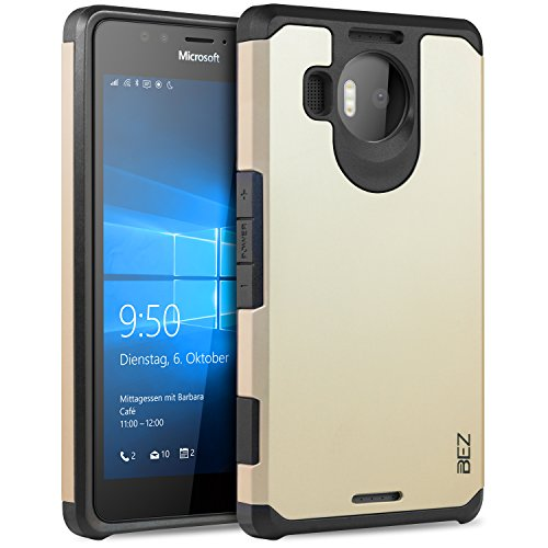 buy online 2b7c4 96c37 BEZ® Shockproof Case Cover for Microsoft Lumia 950 XL(H2-ORB950XL)