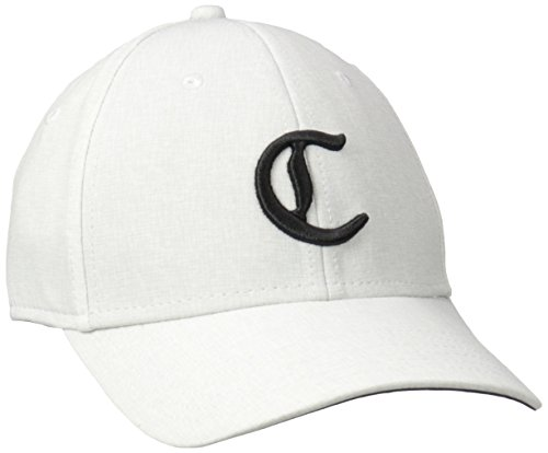 Callaway Golf 2017 C Collection Lightweight Stretch Hat Mens Structured Golf Cap White Large/XL
