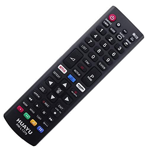 Ersatz Fernbedienung passend für LG Smart TV LED 40UH630V.AEU 40UH630V mit One-to-One PreProgrammed Connection - Easy Start Funktion ohne lästige Installation