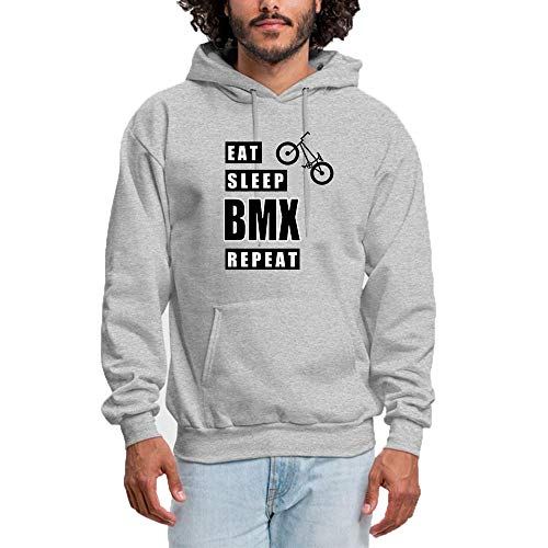 92fd2662292 Women Hooded Sweatshirt EAT Sleep BMX Repeat Logo - Classic   Comfortable  Pullover