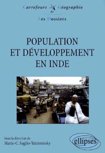 Population et développement en Inde par Collectif