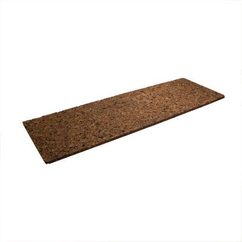 Braune Korkplatte ca. 30 x 91 x 1,3 cm stark - Zweierpack