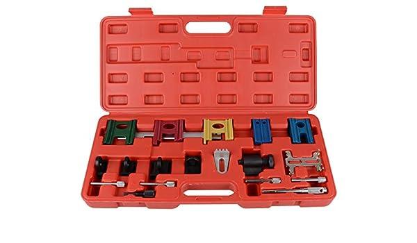 DAYUAN 19 PC Engine Universal Timing Belt Chain Camshaft Flywheel Locking Tool Set Kit