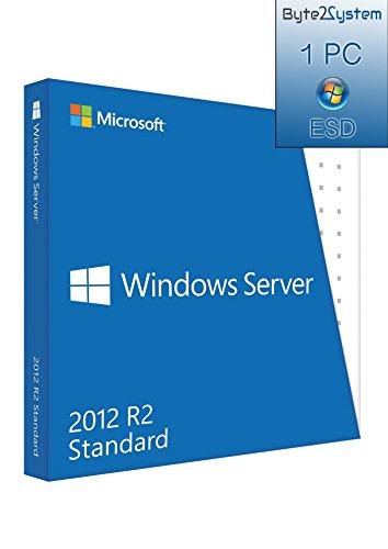 Windows Server 2012 R2 Standard - 64 Bit - Multilingue - ESD - Digital Code