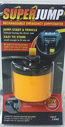 Jump Up - Avviatore Portatile di Emergenza per Auto, Ricaricabile, 12 V
