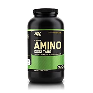 41tdpzDZfvL. SS300  - Optimum Nutrition ON Superior Amino 2222, Essential Amino Acids Tablets, EAA, BCAA, Unflavoured, 160 Servings, 320…