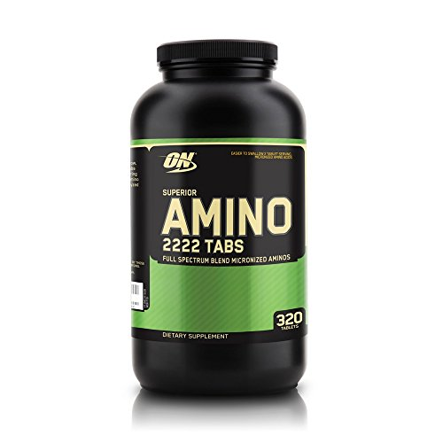 41tdpzDZfvL. SS500  - Optimum Nutrition ON Superior Amino 2222, Essential Amino Acids Tablets, EAA, BCAA, Unflavoured, 160 Servings, 320…