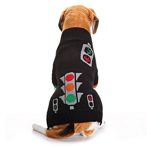 Ampeln Muster Haustier Hund Welpe klassische Pullover Pullover Kleider warme Pullover Winter