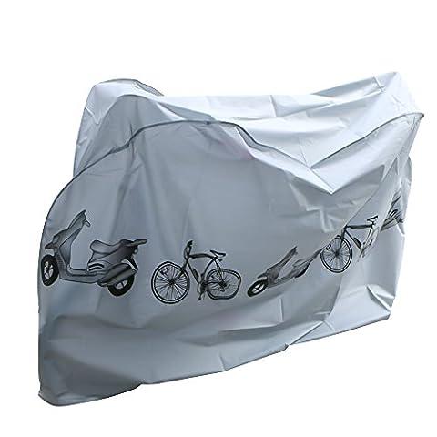 Fahrradschutzhülle,Nakeey Wasserdicht Fahrradhülle Fahrradgarage Fahrrad Schutzhülle -Universal Fahrradschutz Fahrrad abdeckung Cover 210x 98x110CM Hülle für