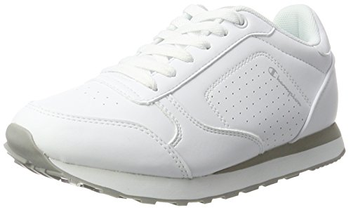 Champion Low Cut Shoe C.j. Pu, Scarpe Running Donna, Bianco (Wht), 40 EU