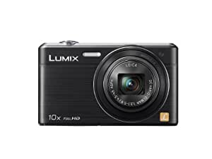 """Panasonic Lumix DMC-SZ9EF-K Appareil photo numérique Taille d'écran 3""""  (7,5)) Zoom optique 10x Noir"""