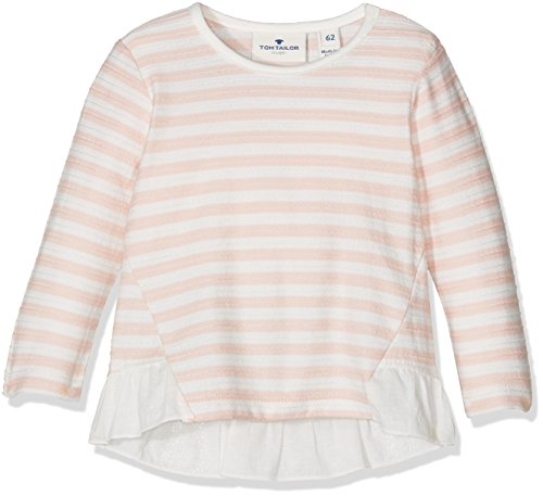 tom-tailor-kids-striped-t-shirt-with-fabric-mix-camisa-para-bebs-rosa-rose-cream-68
