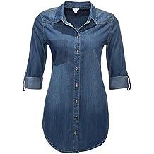 Suchergebnis auf f r jeanshemd damen for Jeanshemd damen lang