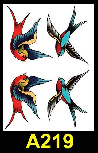Flor del tatuaje del brazo tatuaje impermeable pegatinas arte tatuaje medio brazo calamar hombres y mujeres modelos universal transferencia de agua pegatinas seguro no tóxico @ A219_21X15cm (Hombre Halloween Para Ideen Disfraces)