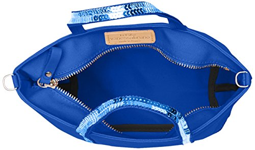 Shopping Bag Vanessa Bruno Da Donna, 9,5 X 17 X 26 Cm Blu (bleu Electrique)