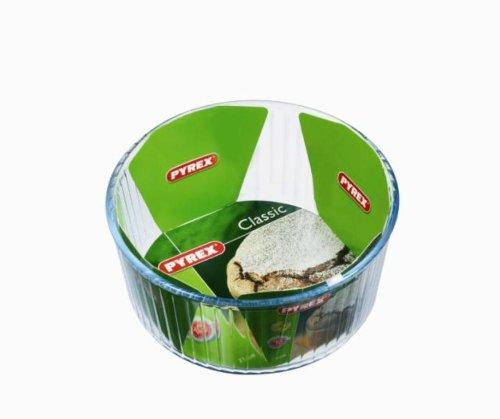 Pyrex 1040908 Bake & Enjoy Moule à soufflé en verre Ø 21 cm
