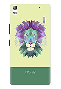 Noise Crystal Lion-Green Printed Cover for Lenovo K3 Note