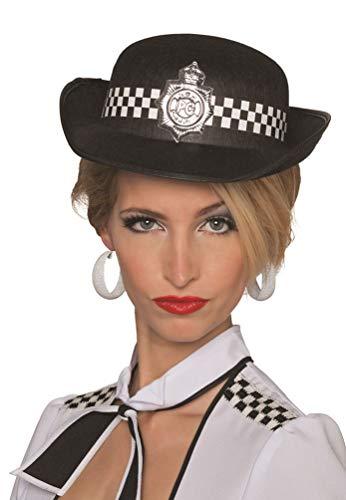 Karneval-Klamotten Hut Polizei Bobby Polizistin Hut London UK ()